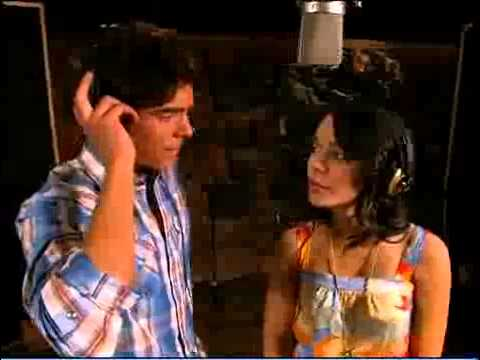 Zac Efron And Vanessa Hudgens Recording I Gotta Go My Own Way From High School Musical 2
