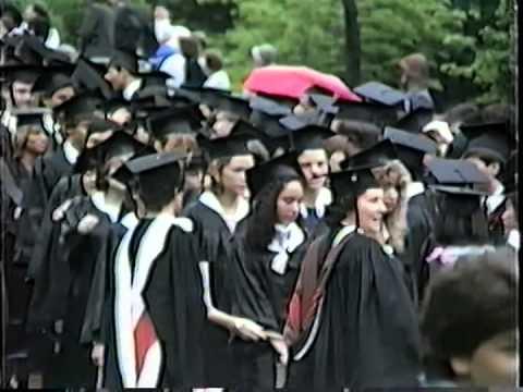 Brown University Commencement 1984