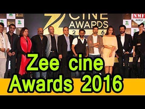 Bollywood Stars at Zee Cine Awards 2016 |Anil Kapoor, Shahid Kapoor, Sonakshi Sinha