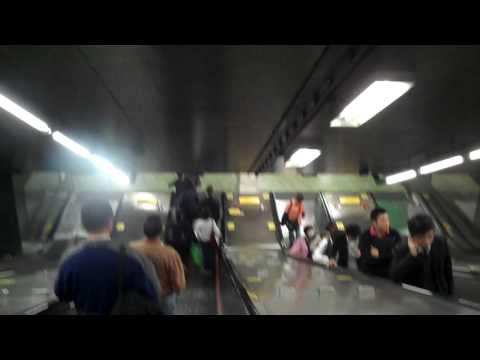 HD Tour of Hong Kong - Fortress Hill MTR stop