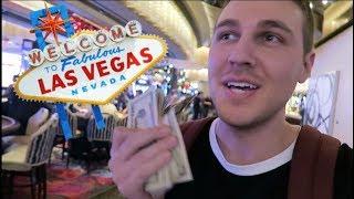 GAMBLING IN LAS VEGAS & ACTUALLY WINNING!