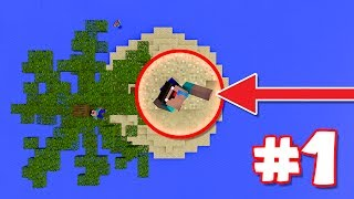 LONELY ISLAND | Survival Island Pocket Edition #1 (MCPE/Windows 10)