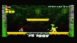New Super Mario Bros. Wii - The Koopalings - Fortress Battles