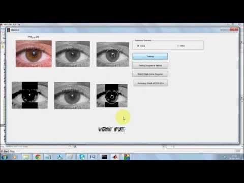 IRIS Recognition in Matlab: Comparision of Daugman and SVM for MMU and CASIA database