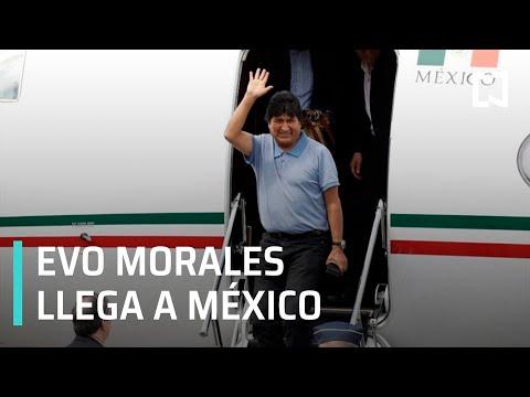 Evo Morales, expresidente de Bolivia, llega a México - Por las mañanas