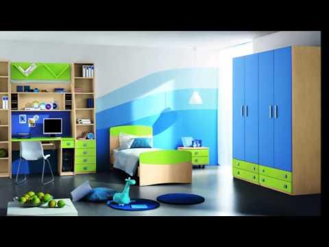 Kinderzimmer mit dachschräge für Jungen