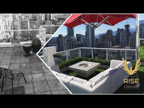 Sky Green Vancouver Penthouse - RISE Outdoor Design