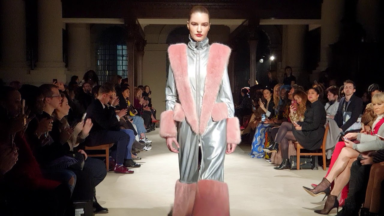 Malan Breton Show at London Fashion Week AW20