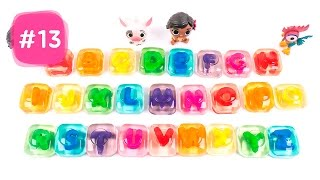 Learn Alphabet with Moana Gummy Jelly Candy ABC Song for Kids #13 - By MagicPang