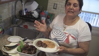 Angelo's Mom Makes Keftedes And Manestra (fried Greek Meatballs And Rice)