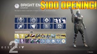 DESTINY 2 - $100 EVERVERSE ENGRAM OPENING + MAX POWER GRINDING GAMEPLAY