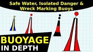 Safe Water, Isolated Danger, Wreck Marking | Buoyage In Depth