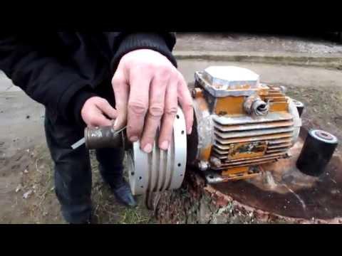 Шкив для гриндера из мотоциклетного колеса.