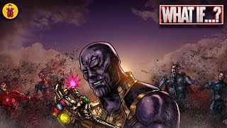 What If The Snap dusted Every Avenger In Infinity War?