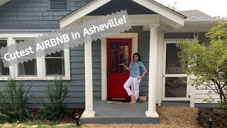 Best Airbnb In Asheville? Our Airbnb House Tour!