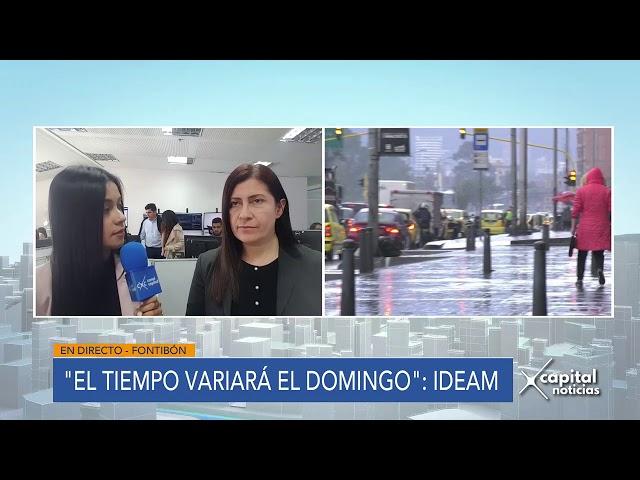 Ideam pronostica lluvias en Bogotá durante fin de semana de elecciones