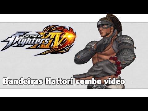 KoF XIV: Bandeiras Hattori combo video