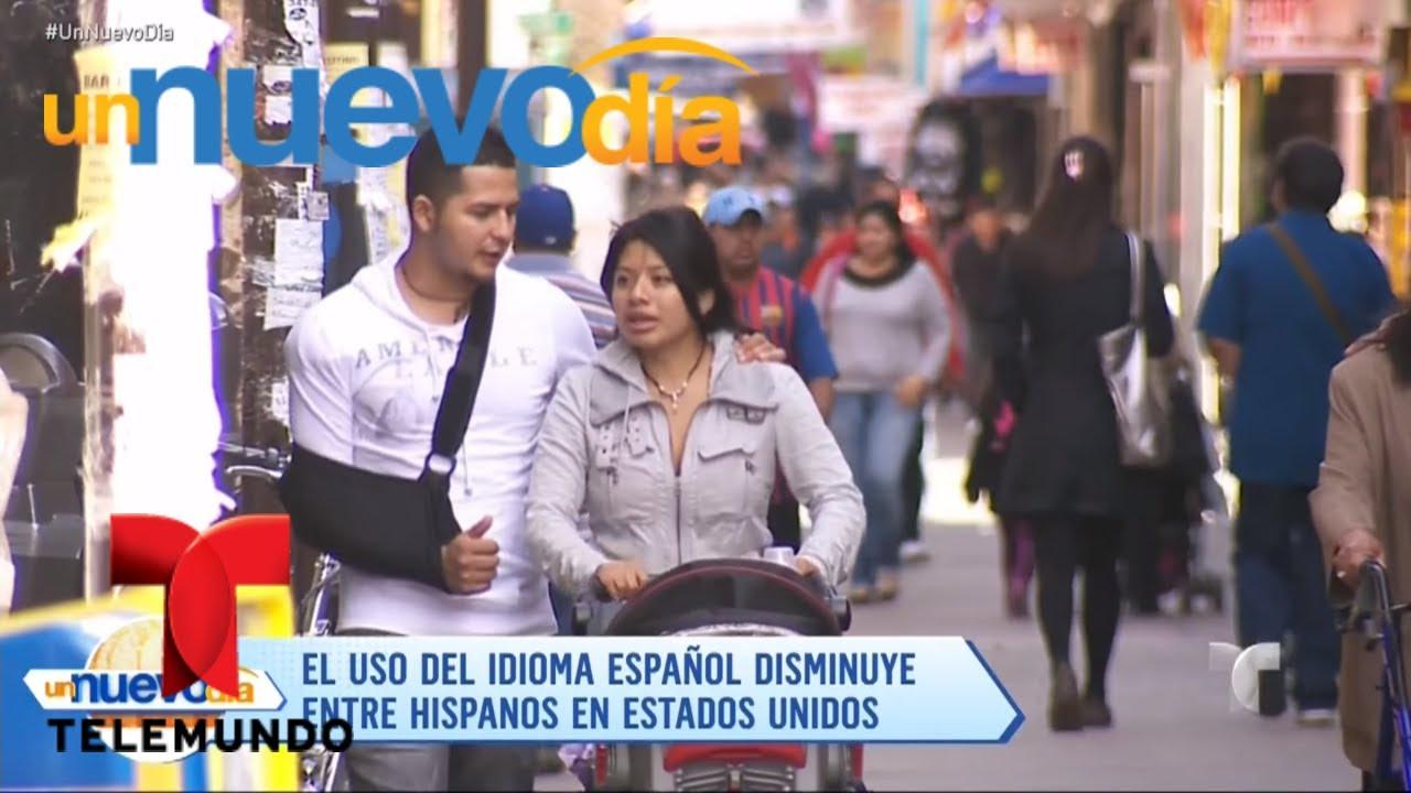 Actores Estadounidenses Hablando Español los hispanos de estados unidos hablan menos español | un nuevo día |  telemundo