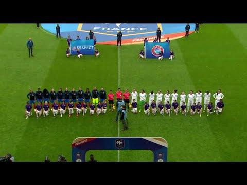 Women's Euro-2017 qualification. France - Greece [LQ] (03/06/2016)