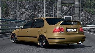 ETS 2 – Honda Civic IES Araba Modu (1.25 1.26 1.27 1.28)