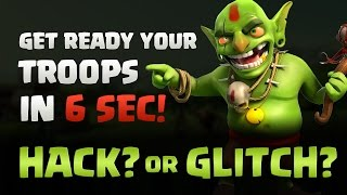CLASH OF CLANS : HOW TO TRAIN YOUR TROOPS FAST
