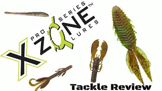Tackle Review - XZone Lures Soft Plastics