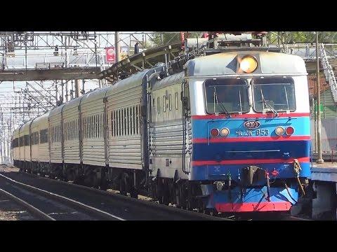 Чс2к с пассажирским поездом №242 Москва- Саранск