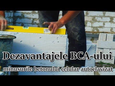 Dezavantajele BCA-ului minusurile betonului celular autoclavizat
