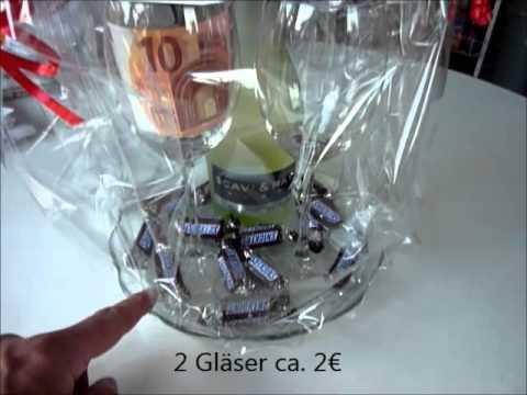 ... und Gläser originell verpackt, Weinflasche, Hugo, Prosecco - YouTube