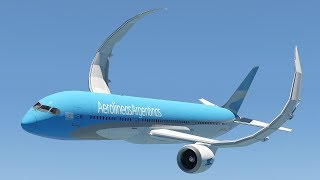 X-Plane 11 | Shocking With The Wingflex of Boeing 787 - Wings almost break in pieces