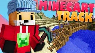 Minecraft Survival | TRAIN TRACK | Foxy's Survival World [102]