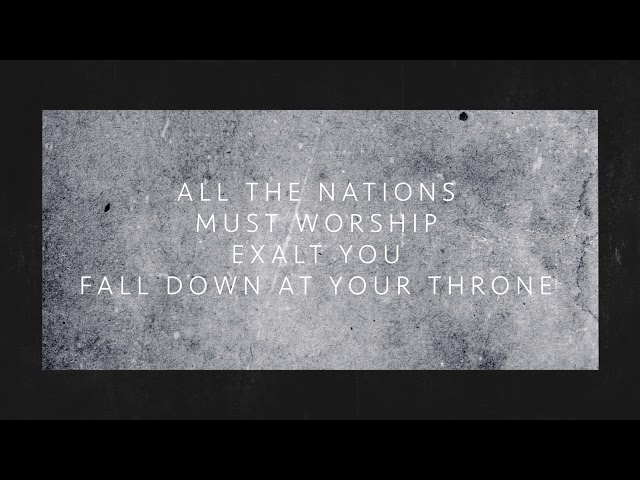 ShofarBand - All the Nations (Church Resource)