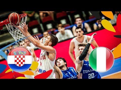 LIVE 🔴 - Croatia v Italy - Quarter-Finals - FIBA U20 European Championship 2018