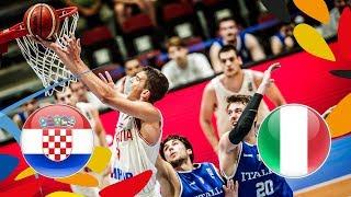 Croatia v Italy - Full Game - Quarter-Finals - FIBA U20 European Championship 2018