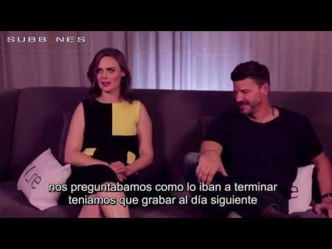 Emily Deschanel & David Boreanaz - San Diego Comic Con 2014- Entrevista de TVLINE (Subtitulada)