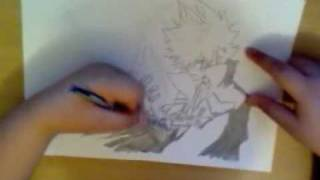 how to draw Tsuna from Katekyo Hitman Reborn