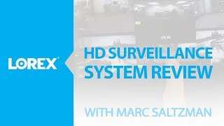 HD surveillance camera system review by Marc Saltzman