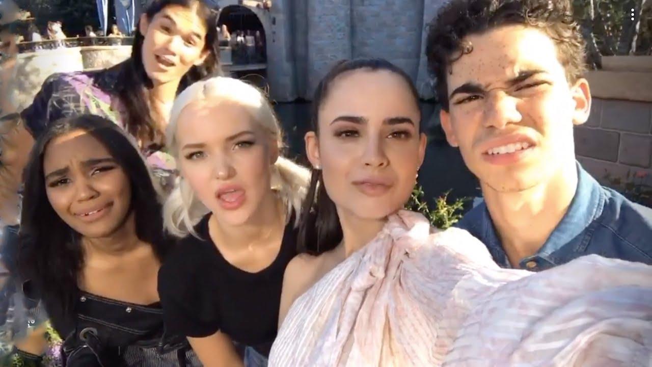 Descendants Cast | Instagram Livestream | July 14