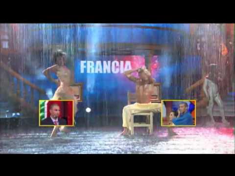 Francia - Bajo la Lluvia - Segundo Campeonato Mundial de Baile (HD) 30/05/10