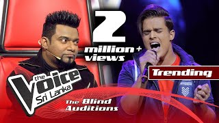 Surange Weerasinghe - Earth Song | Blind Auditions | The Voice Sri Lanka