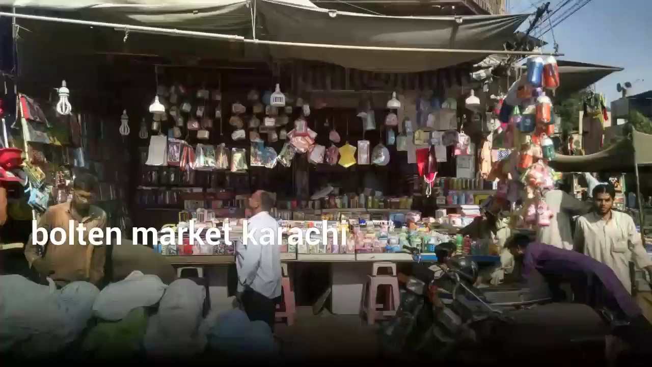 e26d1ea696 bolten wholesale market & streets in pakistan - YouTube