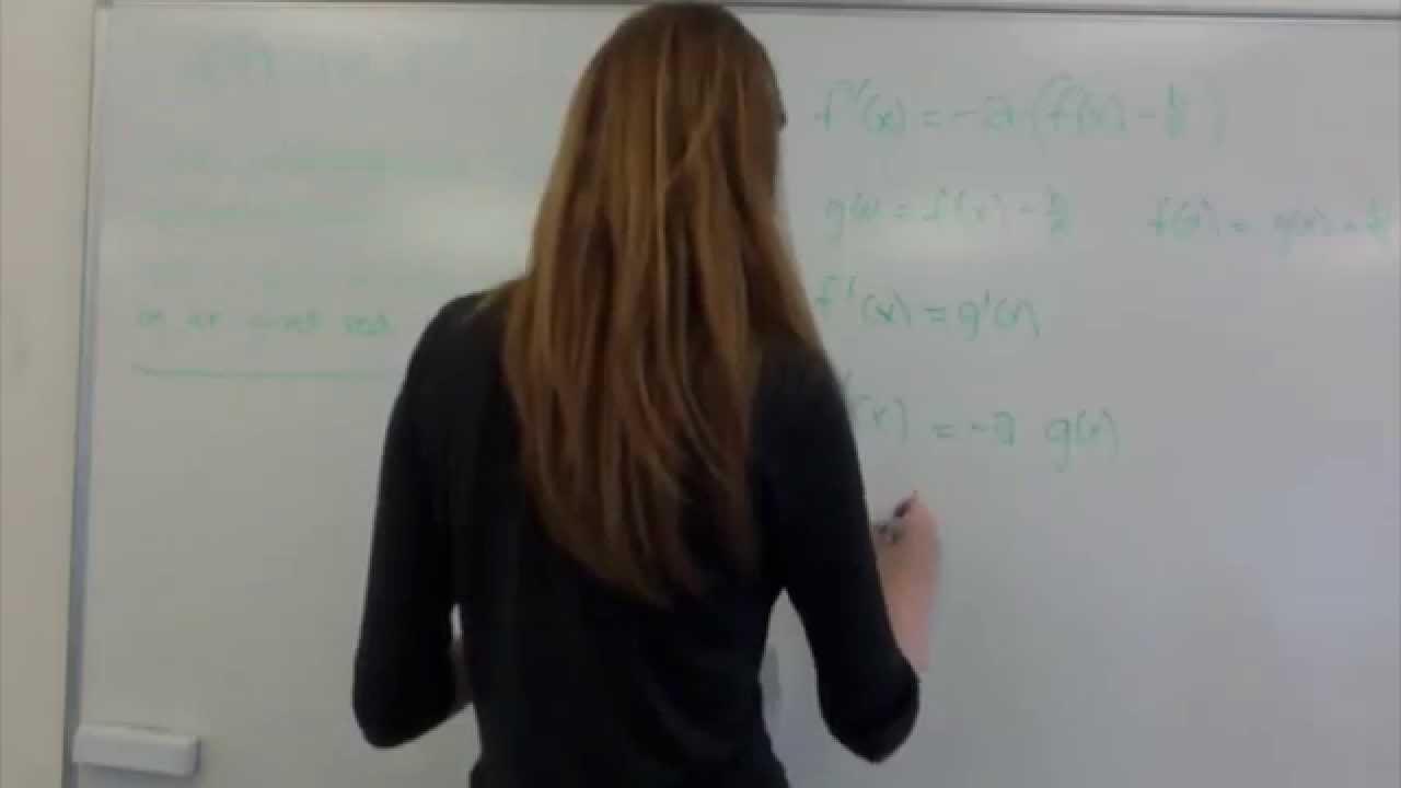 Julie - præsentation af differentialligninger