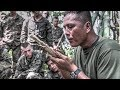 US Marines Learn Jungle Survival Skills From Philippine Marines