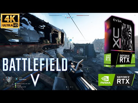 Battlefield V - Devastation 4K Ultra Settings | Conquest | 2080-Ti