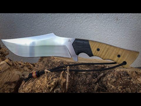 Knifemaking: Recurve Bowie Knife