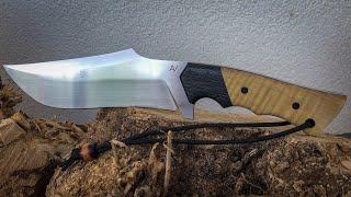Knifemaking: Recurve Bowie Knife