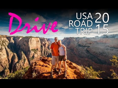 Drive - USA West Coast Road Trip 2015 | GoPro Hero 4 1080p