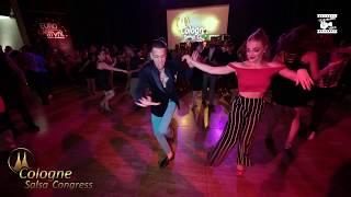 Johnny Vasquez & Steffi de Leeuw - social dancing @ Cologne Salsa Congress 2019