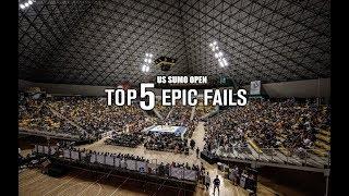 US SUMO OPEN: TOP 5 -- EPIC FAILS