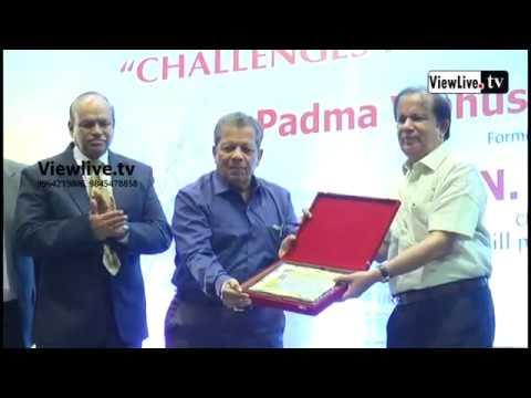 PADMA VIBHUSHAN G.MADHAVAN NAIR |FORMER CHAIRMAN ISRO BANGALORE | NITTE UNIVERSITY |